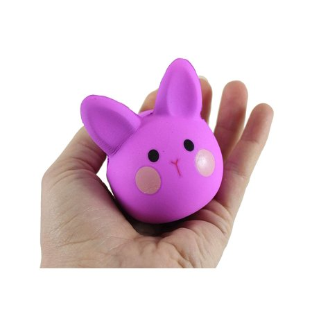 1 Bunny Squishy Slow Rise Foam Animal - Easter Scented Sensory, Stress, Fidget Gift Toy (Squishy Shop Online)