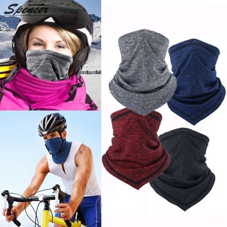 Spencer Riding Cycling Half Face Mask for Men Women- Anti Dust & Windproof Neck Gaiter Face Scarf Skiing Fishing Hiking Sun Mask for Outdoor Sports