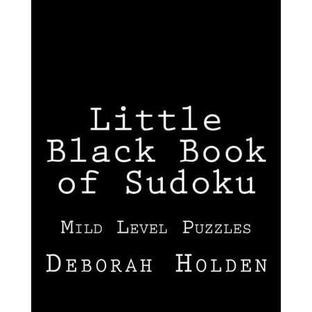Little Black Book of Sudoku: Mild Level Puzzles - image 1 of 1