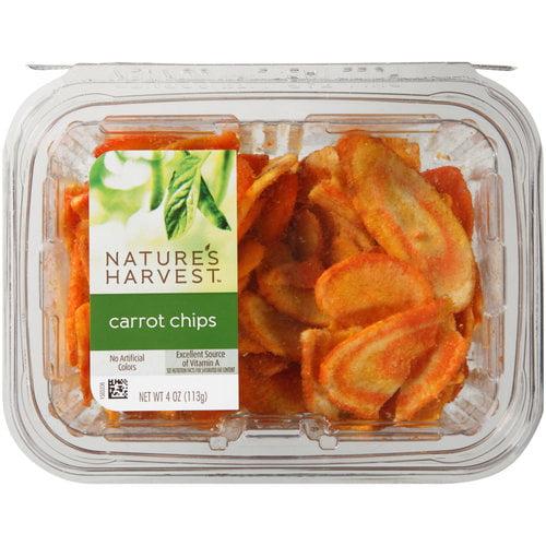 Nature's Harvest Carrot Chips, 4 oz