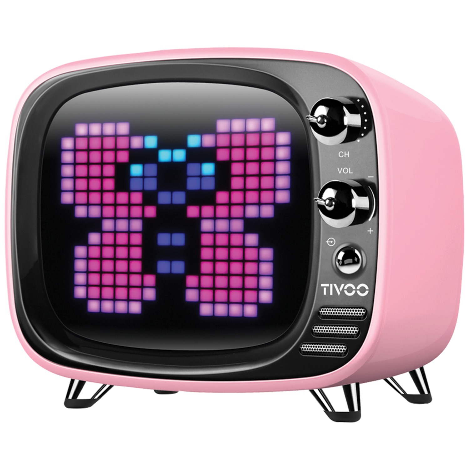 Divoom 90100058067 Tivoo Pixel Art Bluetooth Speaker (Midnight Black)
