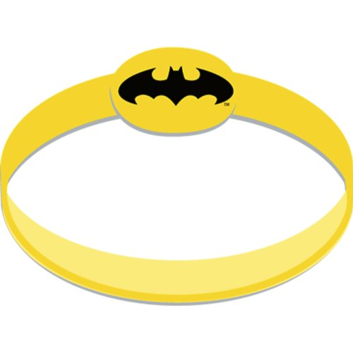 Batman The Dark Knight Rubber Wristbands (4) Party Supplies - image 1 of 1