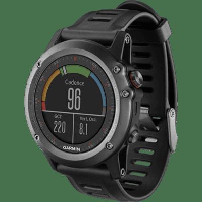 GARMIN Mfg#: 010-N1338-00 Training Watch, fenix 3, Gray, REFURB (Garmin Running Watchs)