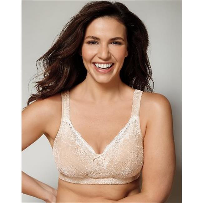 fb4e7e2ad1 Playtex E515 18 Hour Perfect Lift Wirefree Bra with Inner Boost U Panels