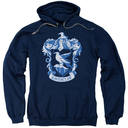 Harry Potter Ravenclaw Crest Mens Pullover Hoodie - Spiderman Hoodie Mens