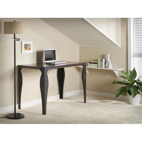 Bush Farrago Classic Desk, Andora Brown / Black