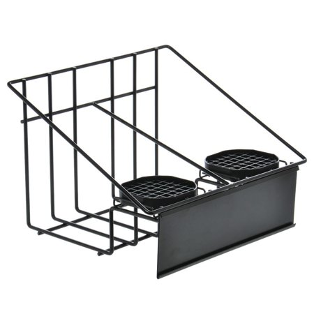 - HUBERT Wire Stand for 2 Airpot Thermal Coffee Dispensers With Drip Trays