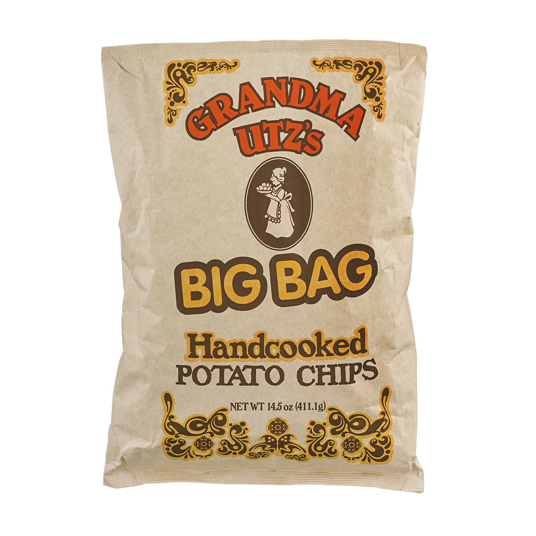 Grandma Utz's Hand cooked Potato Chips Big Bag, 14.5 Oz.