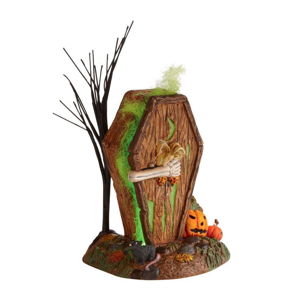 Department 56 Halloween 4024037 Dying To Get In Outhouse Retired