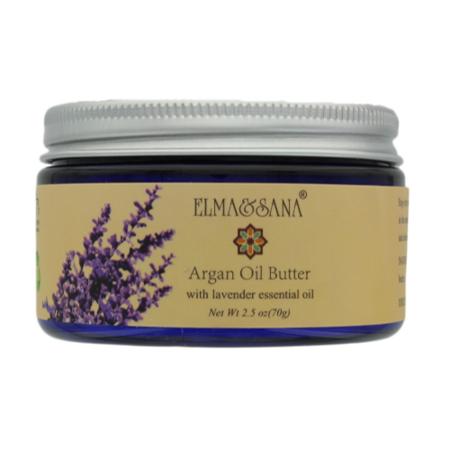Elma And Sana Argan Oil Whipped Moisturizer For Skin  Hair  Nail And Feet  Body Butter  2 5 Ounce