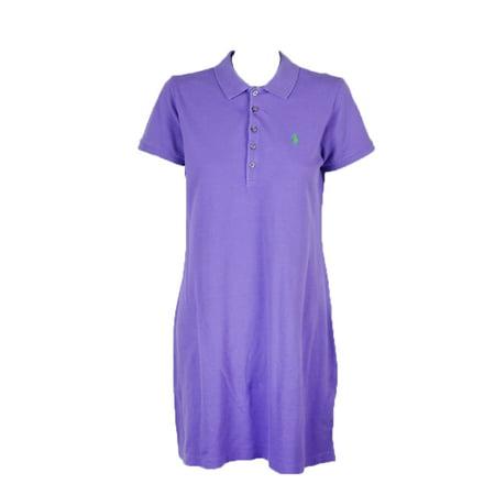 9cc1eb41c7 RalphLauren - Polo Ralph Lauren Light Purple T-Shirt Dress L ...