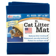 Drymate, Cat Litter Mat, Extra Large, Blue