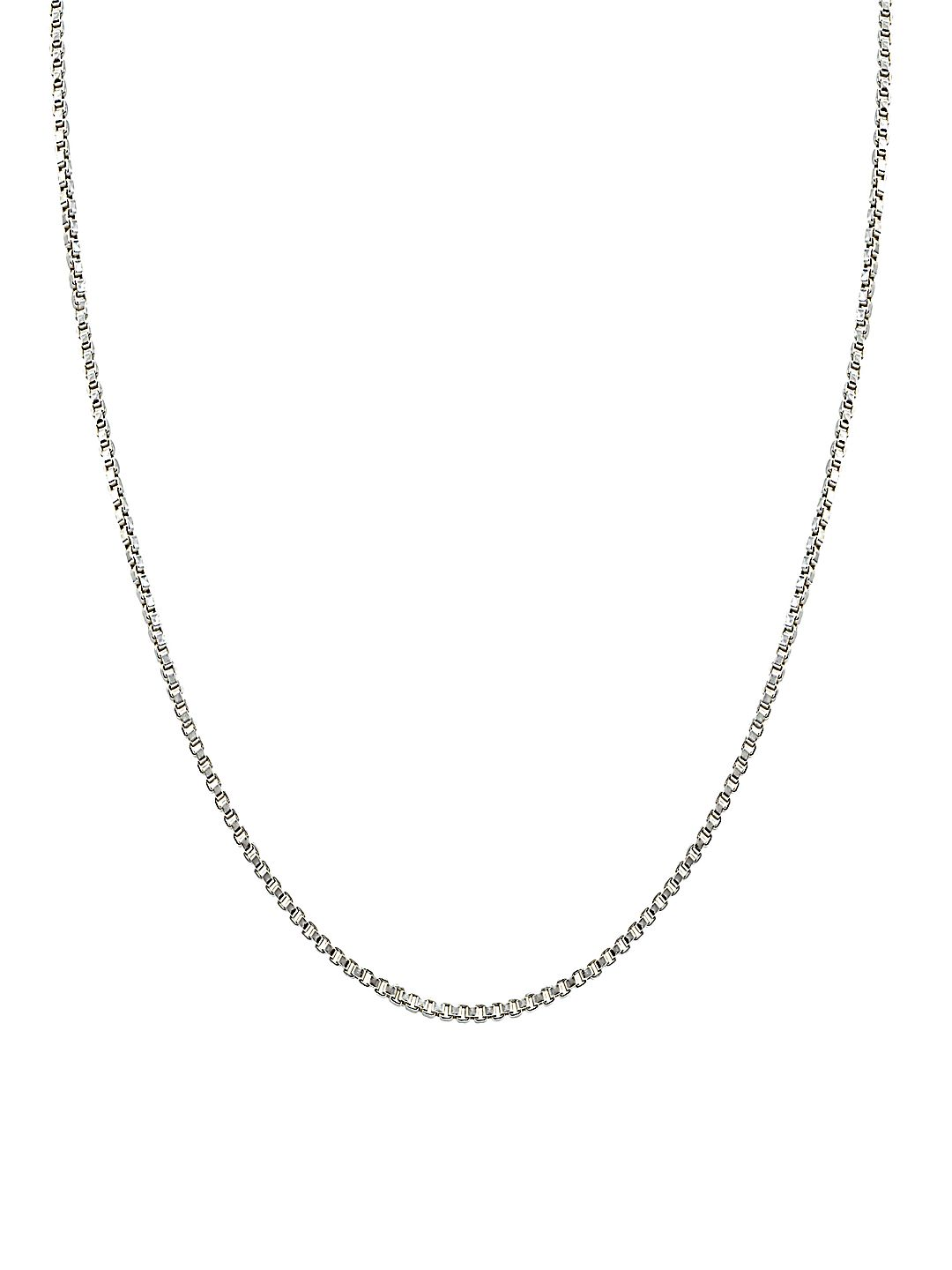 Medium Weight Sterling Silver Chain Necklace