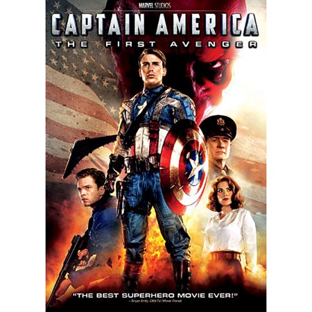 Captain America: The First Avenger (DVD) (Best Of Samuel L Jackson)