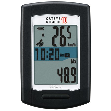 Cateye CC-GL10 Stealth 10 Cycling Computer