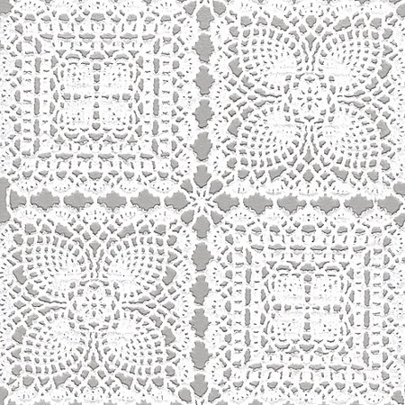 Vinyl Lace Runner 54 Quot Wide 22yd Roll White Squares