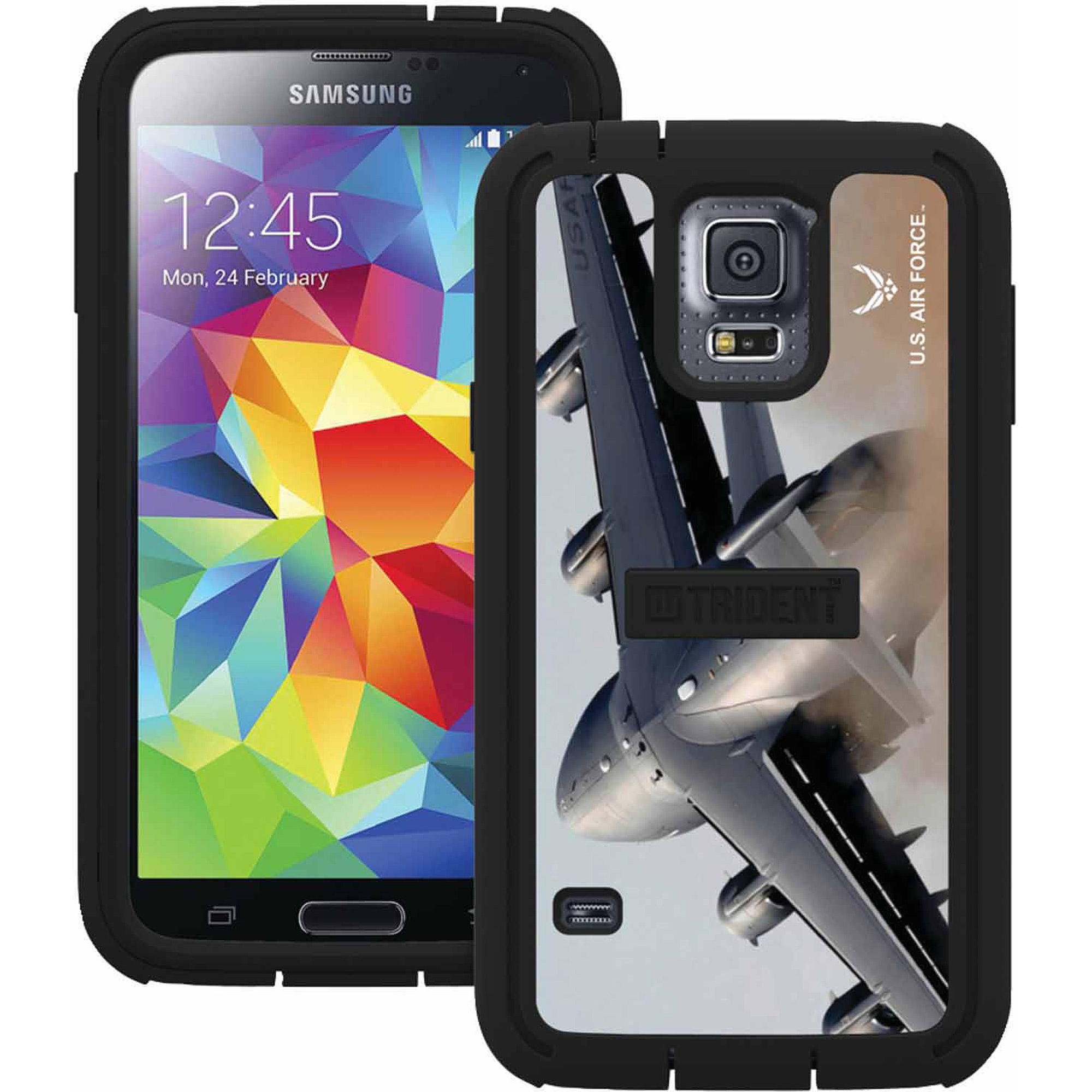 Trident Cyclops Series Case for Samsung Galaxy S5 - Retail Packaging - US Air Force Lifestyle