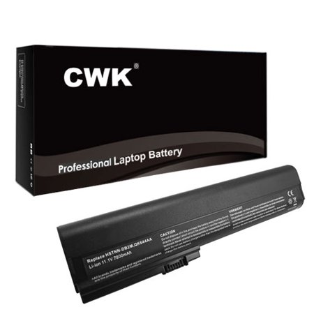 CWK® 7800mAh 9 Cell New High Capacity Battery for HP EliteBook 2560p 2570p 632015-542 HP 632016-542 632423-001 632417-001 632419-001 632421-001 SX09 HP 463309-241 HSTNN-UB2K QK644AA QK645AA SX06