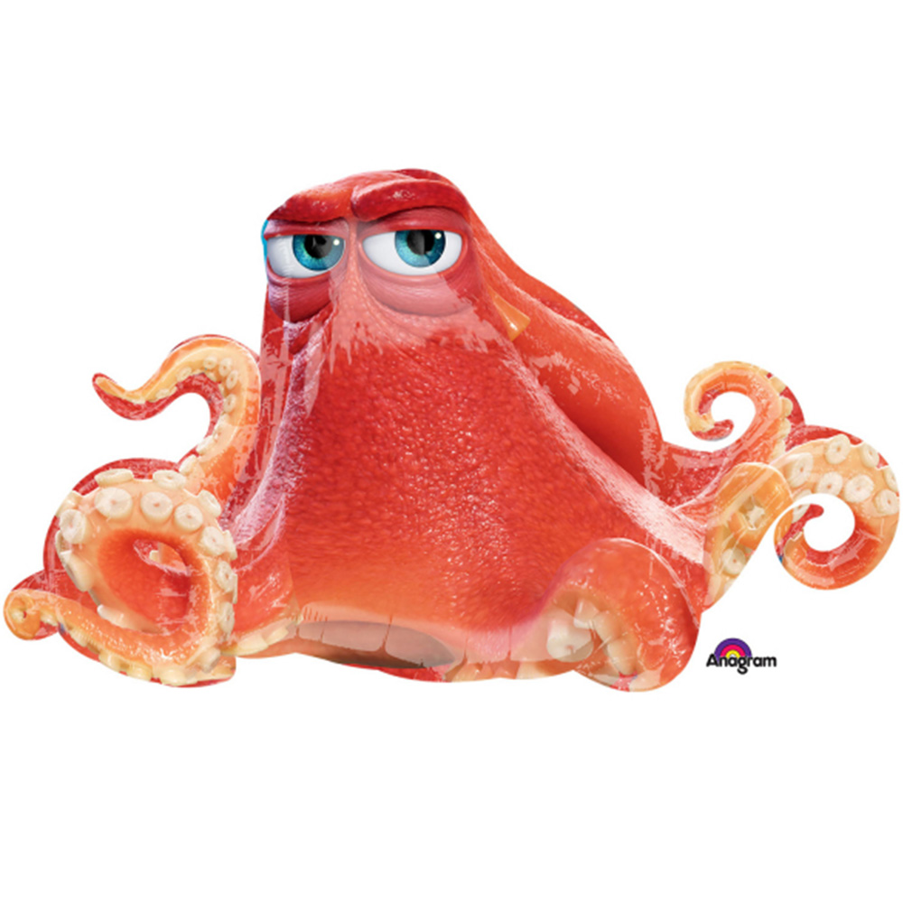 Disney Finding Dory Hank Character Super Shape Foil Balloon 37""