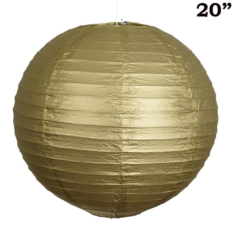 """BalsaCircle 12 pcs 20"""" Party Paper Lanterns Lamp Shades  - Party Decorations"""