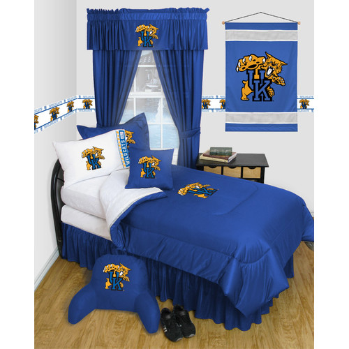 Sports Coverage Inc. NCAA Kentucky Bed Skirt