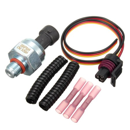 Powerstroke ICP Oil Injection Control Pressure Sensor + Pigtail Connector Kit for Ford 7.3L
