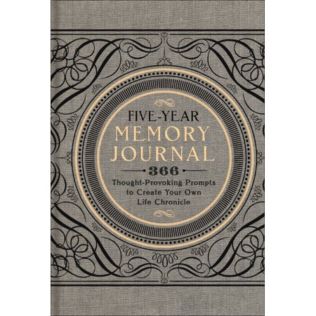 Creations Memories Journal (Five-Year Memory Journal : 366 Thought-Provoking Prompts to Create Your Own Life Chronicle )