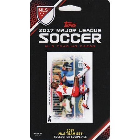 Halloween Parade 2017 New York (New York Red Bulls 2017 Topps MLS Soccer Factory Sealed 8 Card Team Set with Bradley Wright Phillips)