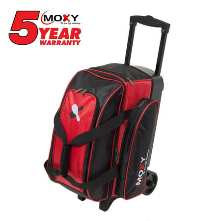 Roller Bar (Moxy 2-Ball Roller Bowling Bag - Red )