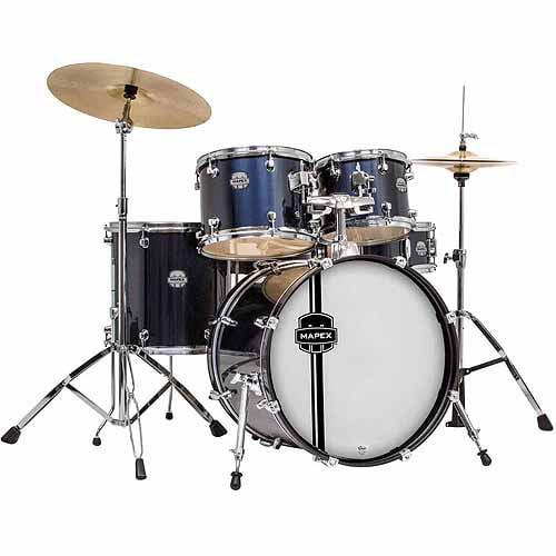 Mapex Voyager Jazz 5 Piece Drum Set W C Walmart Com