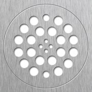 """TILE REDI DP-BN-SET 5-3/4"""" Pipe Dia. PVC Drain Plate"""