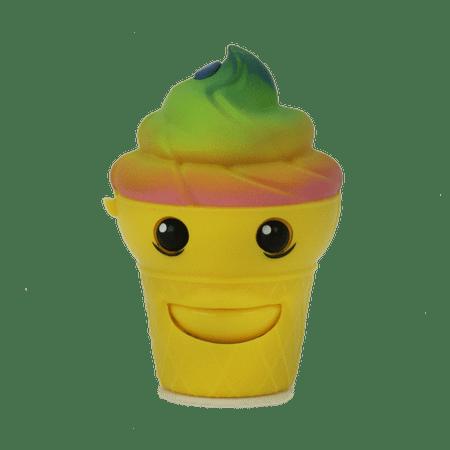 Mojimoto animated talk back rainbow ice cream