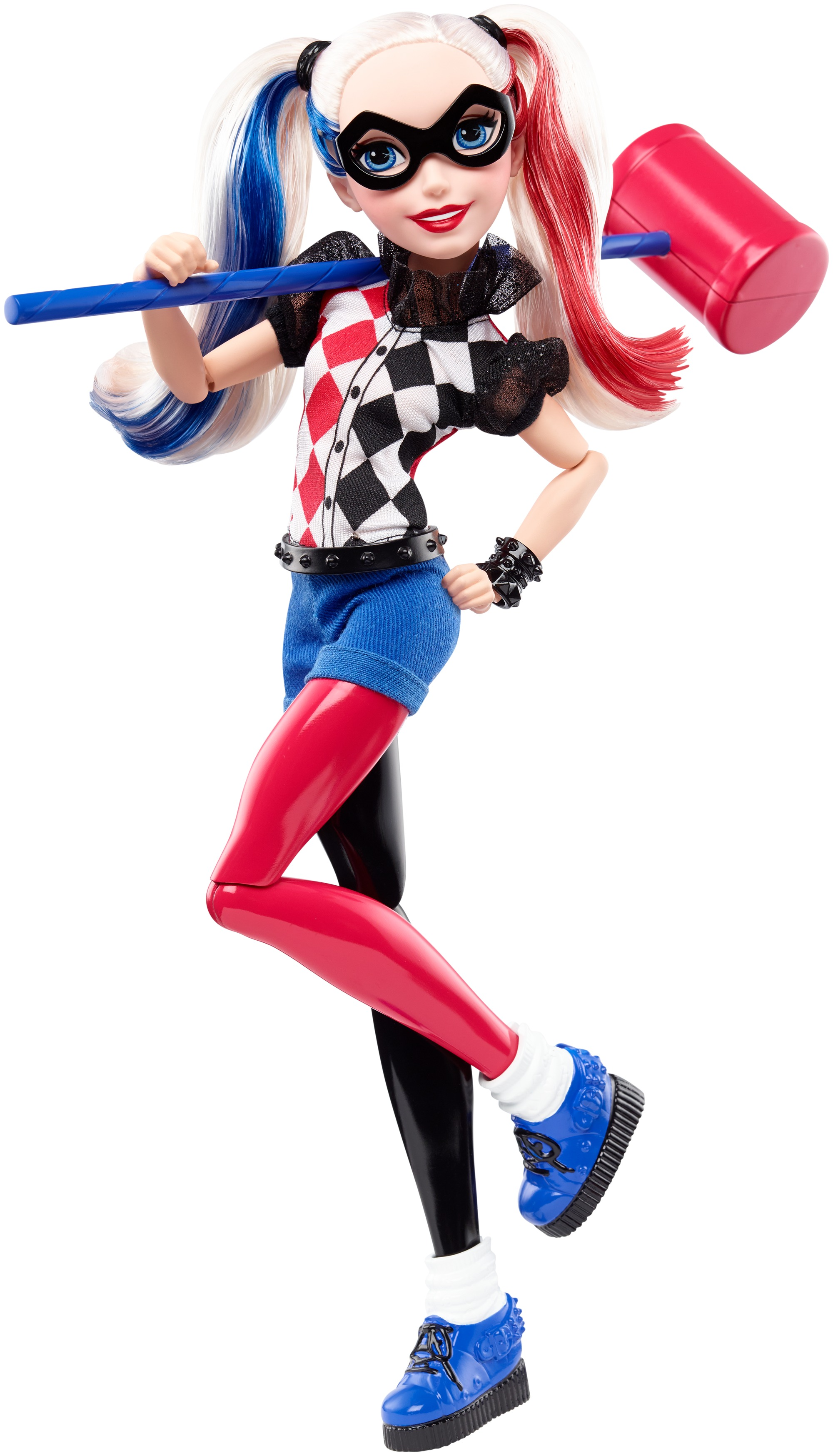 "DC Super Hero Girls Harley Quinn 12"" Action Doll by MATTEL INC."