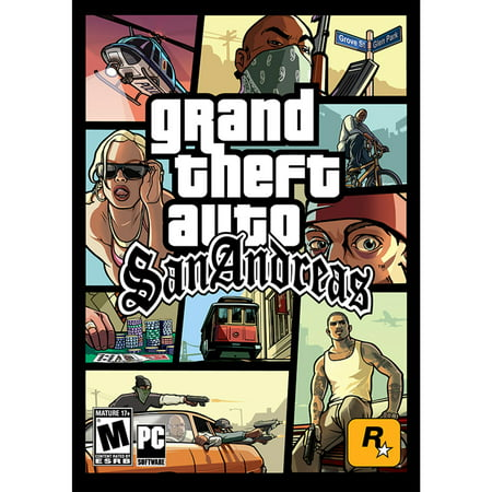 Grand Theft Auto: San Andreas (PC)(Digital Download) - Gta 5 No Halloween