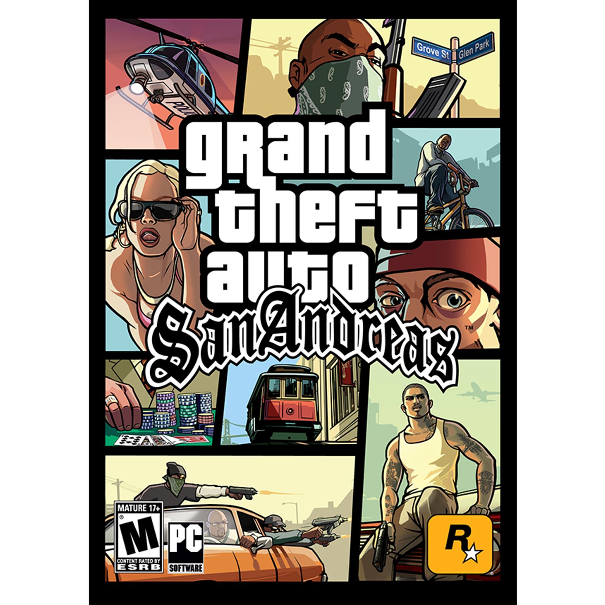 Grand Theft Auto: San Andreas (PC)(Digital Download)