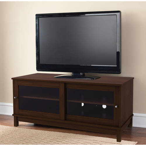"""Mainstays TV Stand for TVs up to 55"""", Multiple Finishes"""