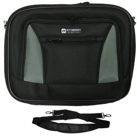 Panasonic Toughbook 19 Laptop Case Carry Handle & Adjustable Shoulder Strap - Black/Gray - Adjustable & Removable Interior Divider