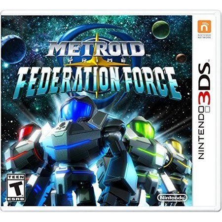 Metroid Prime: Federation Force, Nintendo, Nintendo 3DS, (Best Metroid Prime Game)