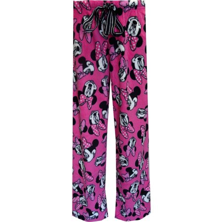 Angel Pant - Disney's Minnie Mouse Hot Pink Angel Fleece Loungepant