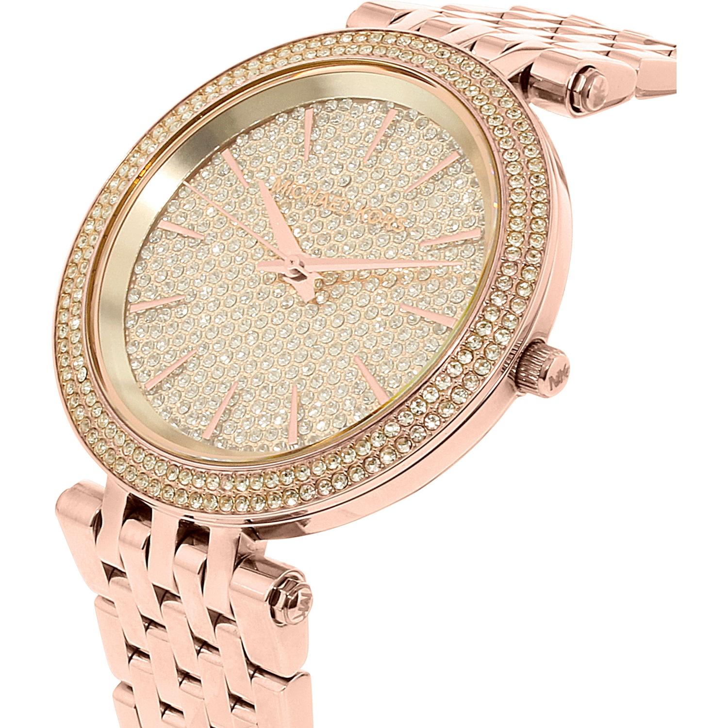 79b3ddc4cd1c1 ... Stainless Steel Quartz Watch. Michael Kors Women S Darci Mk3439 Rose  Gold Stainless