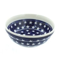 Polish Pottery Stars Cereal/Soup Bowl