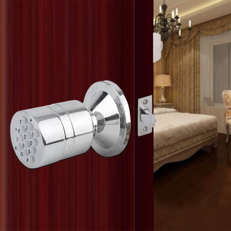 Camaro Door Lock Knobs - Keyless Electronic Door Knob Keyless Entry Door lock Security Keypad Code Lock For Home Office