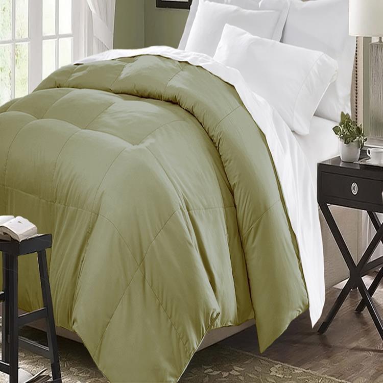 Microfiber Down Alternative Comforter Twin, Queen Or King Assorted Colors