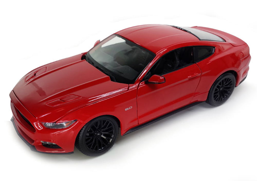 2015 Ford Mustang, Red Maisto 31197 1 18 Scale Diecast Model Toy Car by Maisto