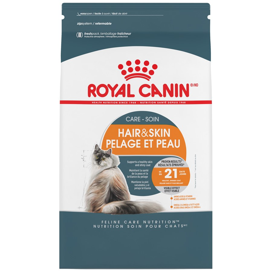 Royal Canin Hair & Skin Care Dry Cat Food, 7 lb