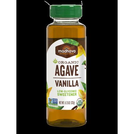 Madhava Organic Agave Vanilla Nectar 11.75 - Madhava Agave Nectar