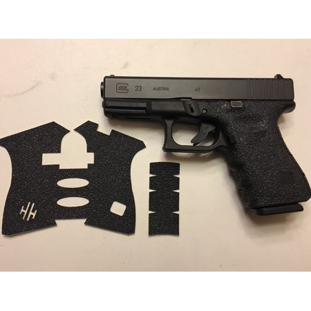 HANDLEITGRIPS Texture Rubber Gun Grip Tape Enhancement Wrap for Glock 19/23 Gen (Used Glock 30 Gen 3 For Sale)