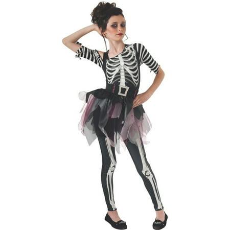 Halloween Skelee Ballerina Child Costume