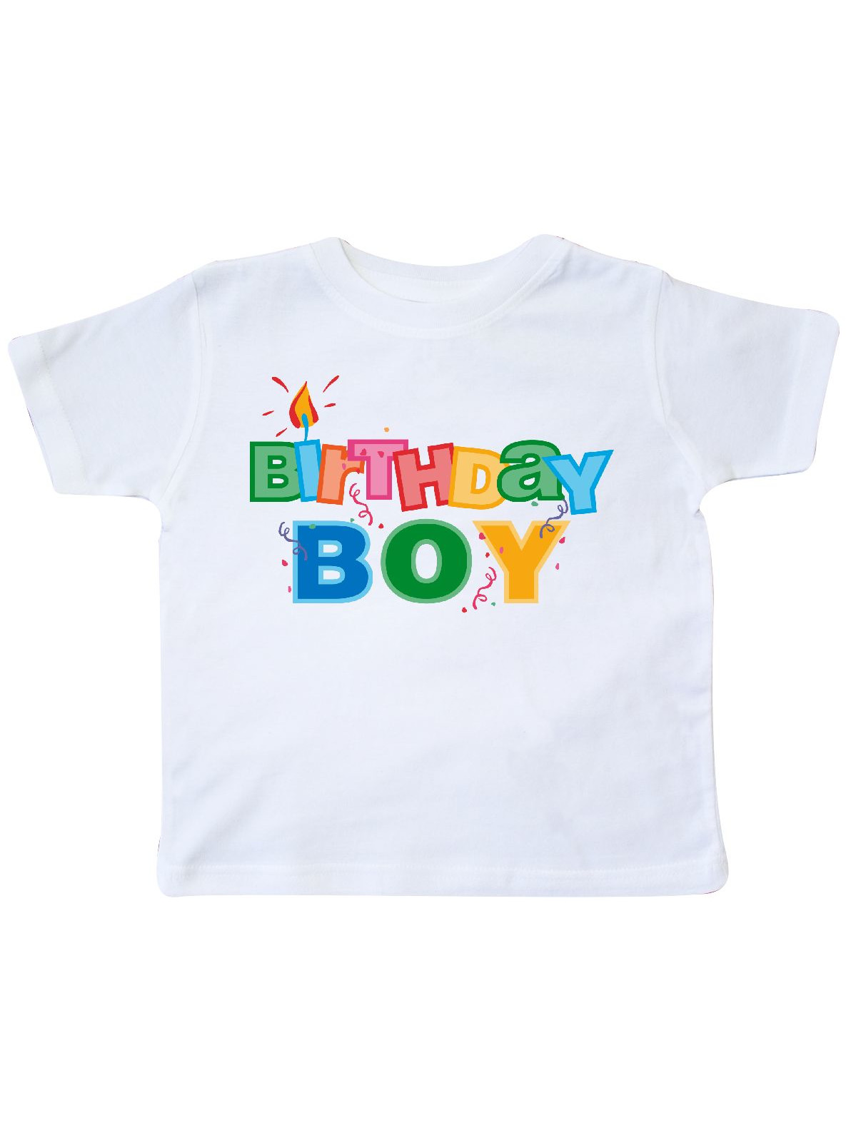 Birthday Boy Letters Toddler T-Shirt