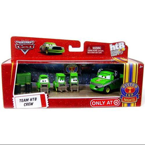 Disney Cars Multi-Packs Team HTB Crew Diecast Car Set
